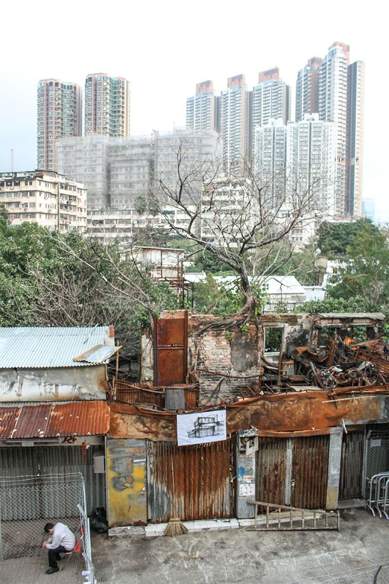 kowloon walled village